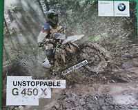 Bmw G450 X 450 X Catalogo Depliant Prospekt Brochure Reclame Pubblicita -  - ebay.it