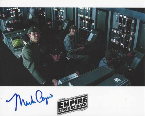 MARK CAPRI SIGNED STAR WARS THE EMPIRE STRIKES BACK EPISODE V 8x10 PHOTO w/COA