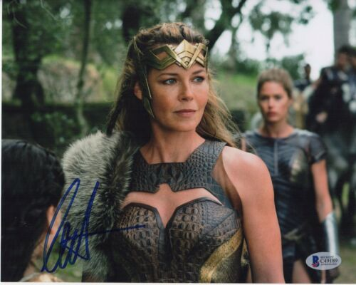 CONNIE NIELSEN SIGNED WONDER WOMAN 8X10 PHOTO! AUTOGRAPH HIPPOLYTA PSA BAS COA!