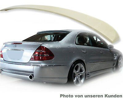 W211 320 250 E55 230 280 AMG *Type L Heckspoilerlippe ABS Material Heck