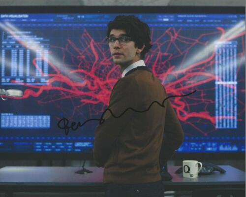 BEN WHISHAW SIGNED 8x10 PHOTO w/COA 1 JAMES BOND SKYFALL NO TIME TO DIE SPECTRE