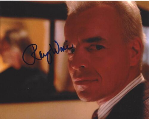 ACTOR RAY WISE SIGNED TWIN PEAKS 8x10 PHOTO D W/COA ROBOCOP SWAMP THING LELAND