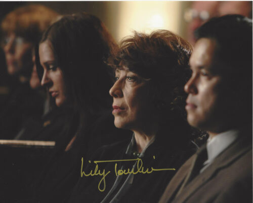 LILY TOMLIN SIGNED AUTHENTIC 'THE WEST WING' DEBORAH 8X10 PHOTO 3 w/COA ACTRESS