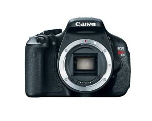 Canon EOS Rebel T3i / EOS 600D 18 0MP Digital SLR Camera - Black (Body Only)