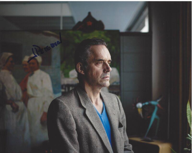 AUTHOR JORDAN B. PETERSON SIGNED 8x10 PHOTO C w/COA 12 RULES FOR LIFE PROFESSOR