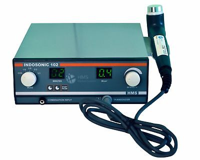 Portable Ultrasound Therapy 1mhz Suitable Underwater Indosonic102 Machine