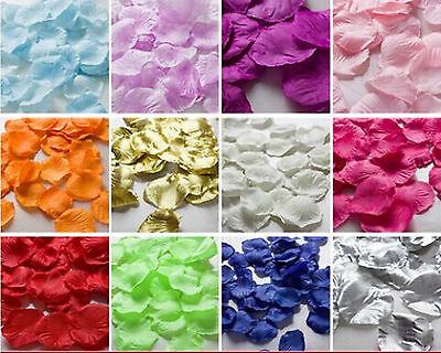 1000pcs Various Colors Silk Flower Rose Petals ...
