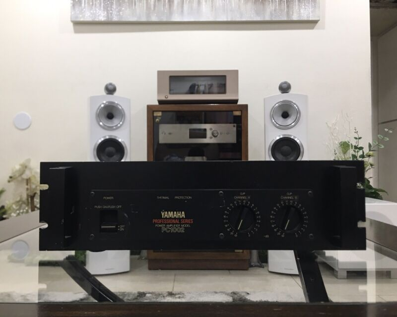 (1) Yamaha PC1002 power amplifier in very good condition!
