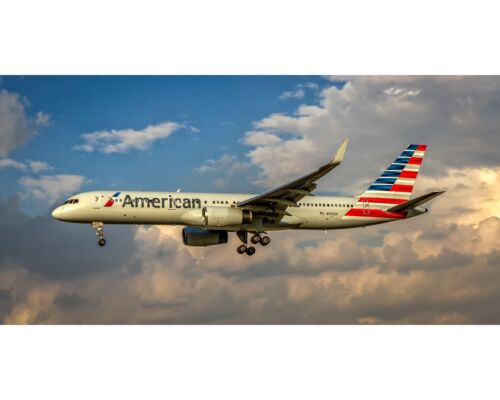 American Airlines Boeing 757 10x20 Photo (APPM10001)