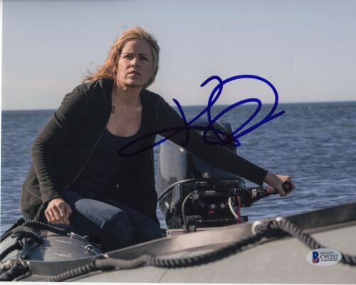 KIM DICKENS SIGNED FEAR THE WALKING DEAD 8X10 PHOTO MADISON CLARK AUTOGRAPH COA