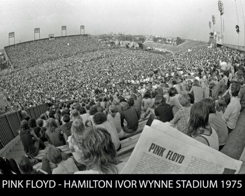 Pink Floyd - 1975 Ivor Wynne Stadium (Hamilton Canada), 8x10 B&W Photo