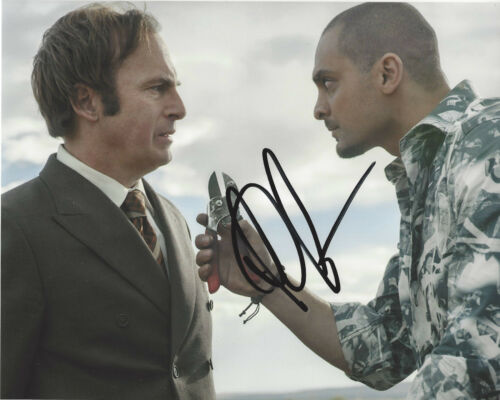 MICHAEL MANDO SIGNED AUTHENTIC 'BETTER CALL SAUL' NACHO 8X10 PHOTO w/COA ACTOR