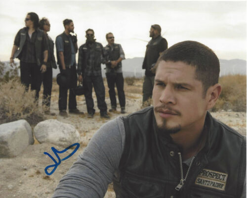 JD PARDO SIGNED AUTHENTIC 'MAYANS M.C.' 8X10 PHOTO D w/COA ACTOR SONS OF ANARCHY