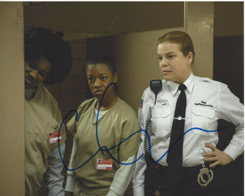 CATHERINE CURTIN SIGNED 'ORANGE IS THE NEW BLACK' 8X10 PHOTO w/COA ACTRESS