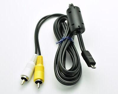 (Genuine Nikon EG-CP14 Audio Video Cable Part# 25624 5ft Coolpix Digital (#3113))
