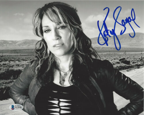 KATEY SAGAL SIGNED SONS OF ANARCHY 8x10 PHOTO ACTRESS PROOF BECKETT BAS COA