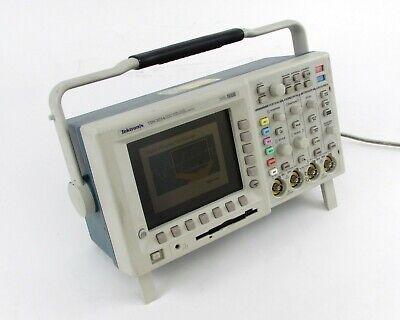 Tektronix Tds 3014 Four Channel Color Digital Phosphor Oscilloscope W Modules