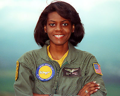 U.S. Navy Ensign Matice Wright First Navy Female African American Flight Officer