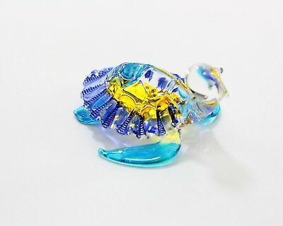 Small Glass Animal Snapping Turtle handmade Miniatures Figurines decor handmade1