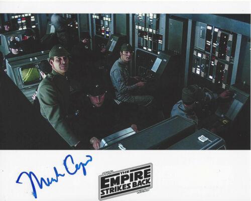 MARK CAPRI SIGNED STAR WARS: EPISODE V THE EMPIRE STRIKES BACK 8x10 PHOTO w/COA