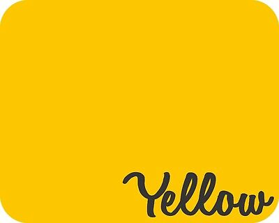 20 X 5 Yards - Stahls Fashion-lite Heat Transfer Vinyl - Yellow
