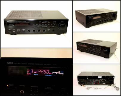 YAMAHA RX-450 Natural Sound Stereo Receiver (2 x 45W)