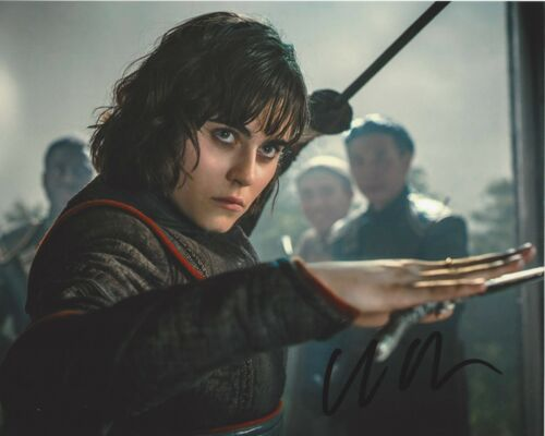 ACTRESS ALLY IOANNIDES SIGNED 8x10 PHOTO 2 w/COA INTO THE BADLANDS PARENTHOOD