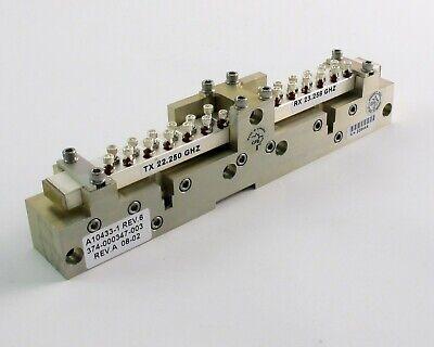 Ghz A10433-1 Waveguide Relay - Wr-42 18-26.5 Ghz - Tx 22.250 Ghz Rx 23.258 Ghz