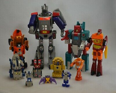 Transformers G1 Lot Of 11 More Rare HTF Figures Skar Quickswitch Skydive + More