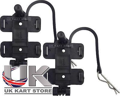 Amb 160/260 Standard & Flex Transponder Halter mit Klemme X 2 UK Kart Store
