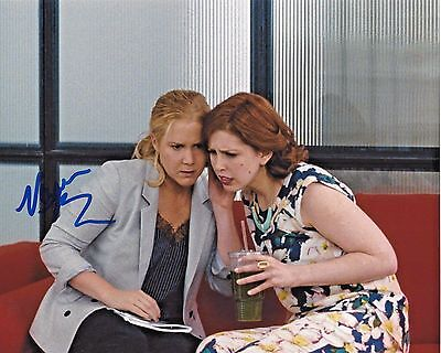 Actress Vanessa Bayer Signed Trainwreck 8X10 Photo W Coa Saturday Night Live Snl