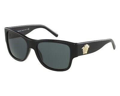 Versace VE 4275A GB1/87 Black / Gray Sunglasses 56MM