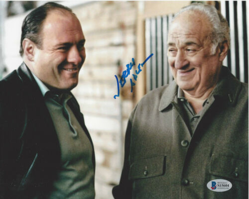 JERRY ADLER SIGNED 'THE SOPRANOS' 8x10 PHOTO ACTOR  HESH RABKIN BECKETT COA BAS