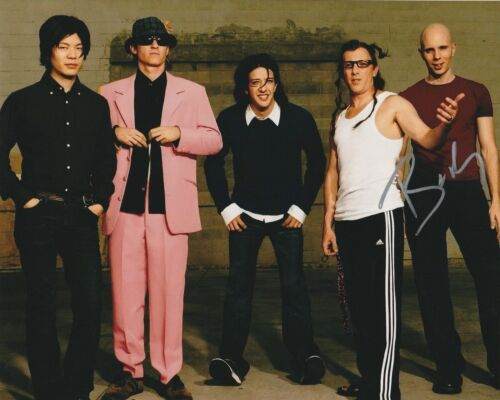 * BILLY HOWERDEL * signed autographed 8x10 photo * A PERFECT CIRCLE * 5