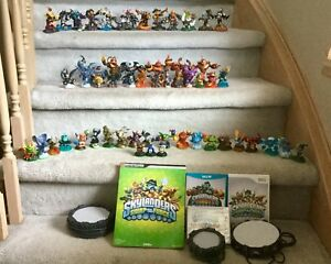 Various Skylanders Figures and Games