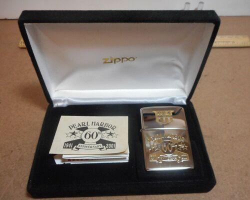 Zippo Pearl Harbor 60th Anniversary Lighter