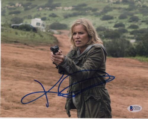 KIM DICKENS SIGNED FEAR THE WALKING DEAD 8X10 PHOTO MADISON CLARK AUTOGRAPH COA1