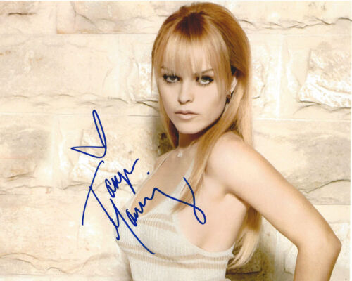 TARYN MANNING SIGNED 'ORANGE IS THE NEW BLACK' 8X10 PHOTO B w/COA TV ACTRESS