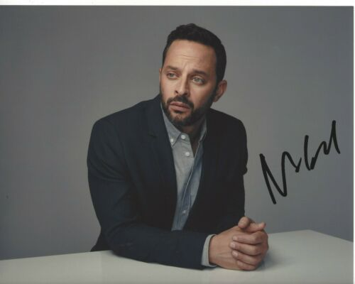 ACTOR COMEDIAN NICK KROLL SIGNED 8x10 PHOTO w/COA BIG MOUTH OLYMPIC DREAMS