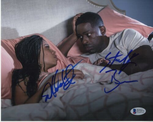 STERLING K BROWN SUSAN KELECHI WATSON SIGNED THIS IS US PHOTO 8x10 AUTO BAS COA1