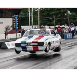 Nostalgia Vintage Drag Racing Funny Car Off the Ground 8 x 10 Print