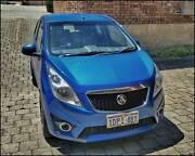 2011 Holden Barina Spark Blue 5 Speed Manual Hatchback Yokine Stirling Area Preview