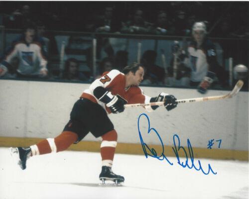 BILL BARBER PHILADELPHIA FLYERS HAND SIGNED AUTHENTIC 8X10 PHOTO B w/COA CANADA