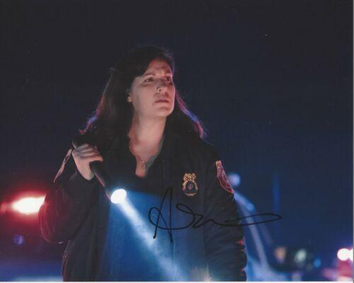 ACTRESS ALLISON TOLMAN SIGNED 'EMERGENCE' 8x10 PHOTO COA FARGO TV SHOW SERIES