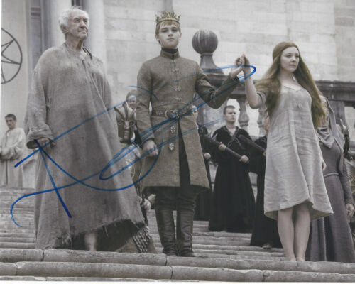 NATALIE DORMER SIGNED GAME OF THRONES 'MARGAERY TYRELL' 8X10 PHOTO w/COA ACTRESS