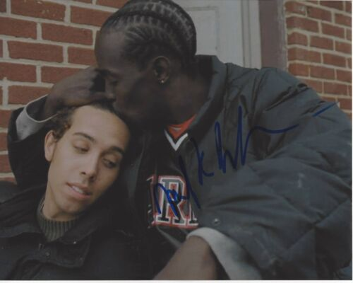 ACTOR MICHAEL K WILLIAMS SIGNED 8X10 PHOTO W/COA THE WIRE TV SERIES