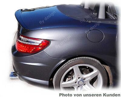 mercedes slk r172 roadster - amg stil Heckspoiler unbiegsam ABS dynamisch