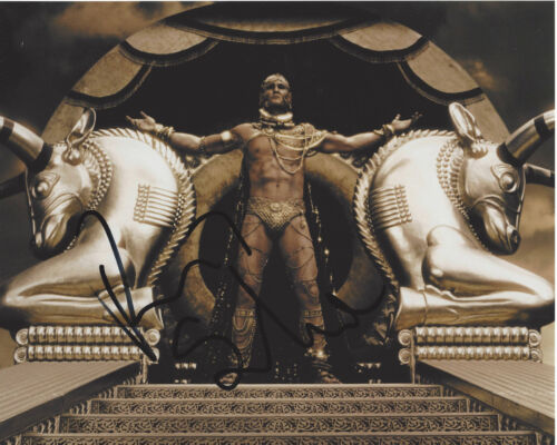 RODRIGO SANTORO SIGNED AUTHENTIC 300 'XERXES' 8X10 PHOTO w/COA ACTOR WESTWORLD