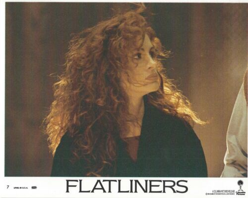 Flatliners Original 8x10 Lobby Card Poster 1990 #7 Julia Roberts Kevin Bacon