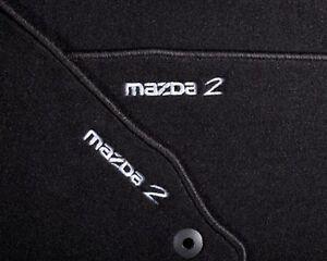 Original Mazda 2 DE Velour Fußmatten Luxury Ausführung